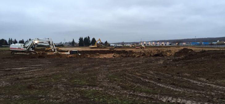 La construction du nouveau siège avance