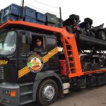 Conducteur camion transbaroudeur
