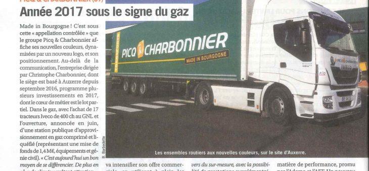 """Année 2017 sous le signe du Gaz Naturel """"GNV""""…"""
