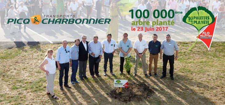 100 000ème arbre planté !