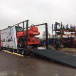 Rampe hydraulique 5m40 de longueur et capacité 24 tonnes Cichy Manutention
