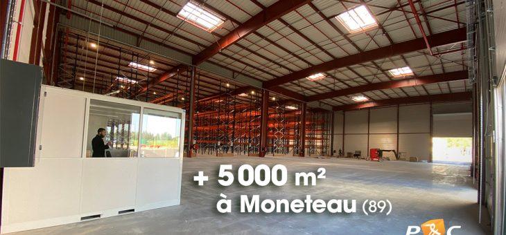 Nouvelle plateforme logistique à Monéteau (89)